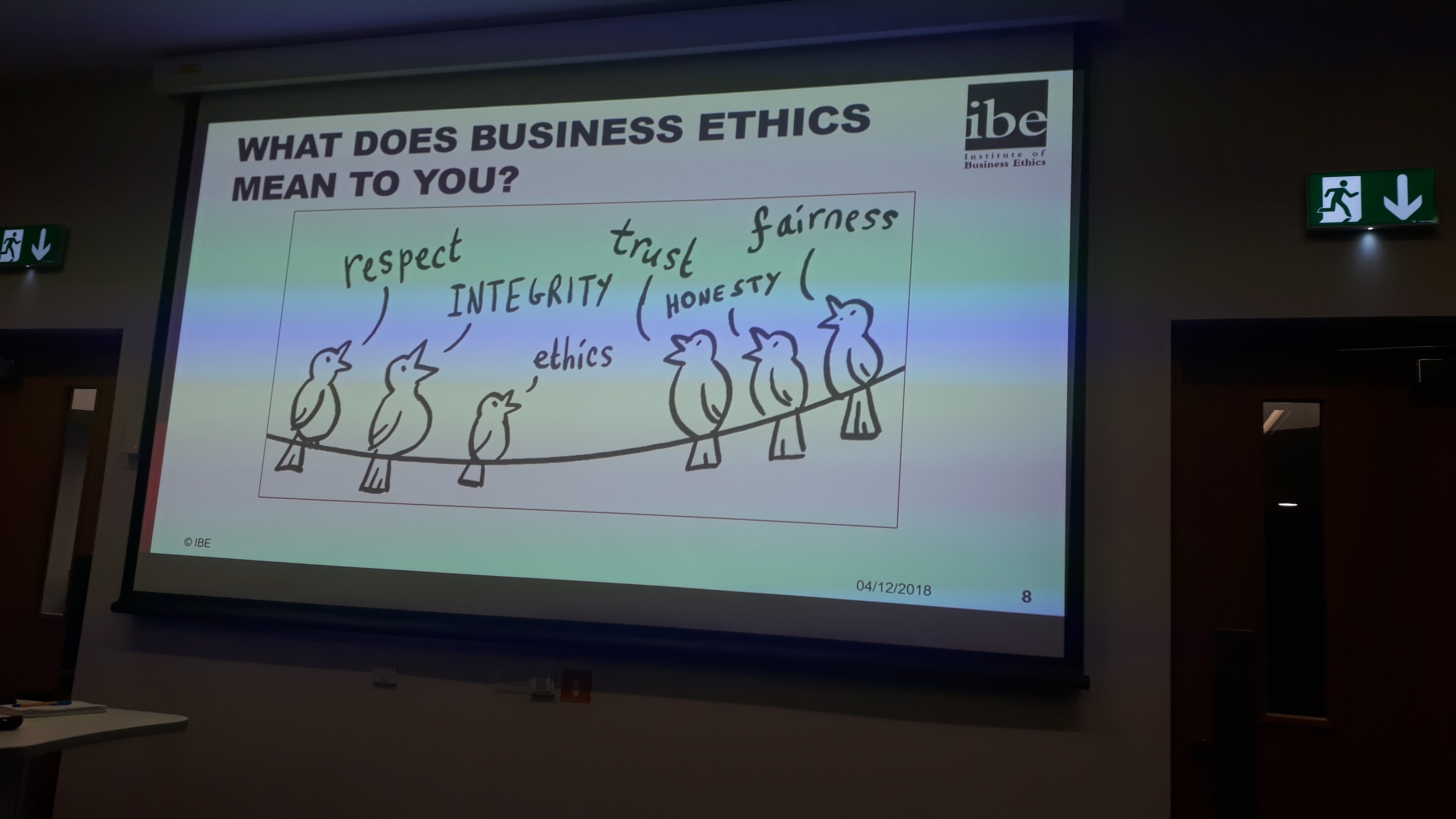 fairness and honesty in business ethics