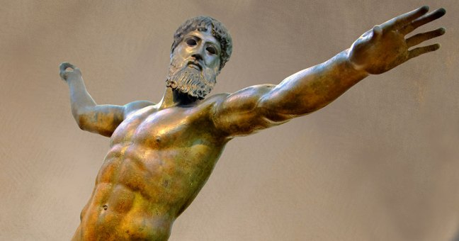 Greek-Statue-Bronze-Zeus